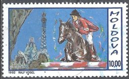 LSJP MOLDOVA EQUESTRIANISM HORSE 1992 - Moldova