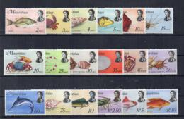 MAURITIUS - 1969 - Posta Ordinaria - 18 Valori - Nuovi - Linguellati * - (FDC17112) - Mauritius (1968-...)
