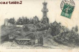 PARIS VIEUX MONTMARTRE TOUR SOLFERINO 1859 ILLUSTRATEUR - Distrito: 18