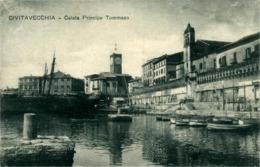 Civitavecchia  Calata Principe Tommaso  Carte Croix-Rouge Voir Au Verso Poste  De Secours N°72 - Civitavecchia