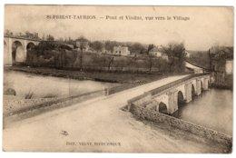 ST-PRIEST-TAURION - Pont Et Viaduc, Vue Vers Le Village - Saint Priest Taurion