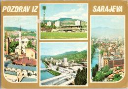 Kt 862 / Sarajevo, Football Stadium, Soccer Ground - Voetbal