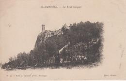 CPA Saint-Ambroix - La Tour Gisquet - Saint-Ambroix
