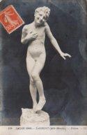 CPA PEINTURE SALON 1908 LAURENT MLLE BLANCHE FRISSON - Pittura & Quadri