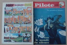 Pilote N° 092 - Année 1961, Cyclisme Anquetil, Le Monde Du Silence, Les Canots De Sauvetage, Astérix Le Gaulois ….. - Pilote