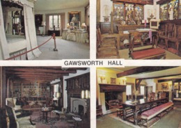 Postcard Gawsworth Hall Nr Macclesfield Cheshire My Ref  B23803 - Other