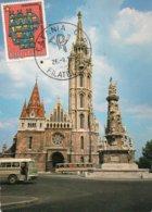 BUDAPEST-CATANIA C.P. FILATELICO 1975-F.G. - Ungheria