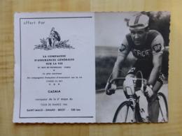 ROBERT CAZALA VAINQUEUR TOUR DE FRANCE 1962 SAINT MALO DINARD BREST - CYCLISME SPORT - Cycling