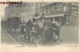 """PARIS VECU """"MODERN STYLE """" AUTOMOBILE TACOT CHAUFFEUR PETITS METIERS 75 - Petits Métiers à Paris"""