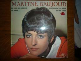 Martine Baujoud: Ma Cour Des Miracles-He M'ma +2/ 45t Disc'AZ EP 1173 - Vinyl Records