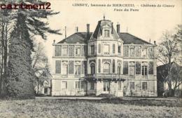 CISSEY HAMEAU DE MERCEUIL CHATEAU  71 - Francia