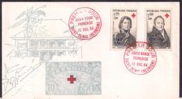 France - 1964 - FDC - Centenaire De La Croix-Rouge Internationale - Red Cross