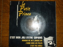Le Petit Prince: C'est Bien Joli D'être Copains +3/ 45t Barclay 70 573 Médium - Vinyl-Schallplatten