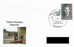 SPAIN. POSTMARK ROMAN THEATRE. SAGUNTO 2017 - España