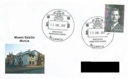 SPAIN. POSTMARK SALZILLO MUSEUM. MURCIA 2017 - Espagne