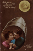 CP - Amour Carte Ancienne 1918 - Couples