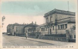 94) IVRY-SUR-SEINE - Rue J.-J. Rousseau - Les Bains Douches Et école Maternelle - Ivry Sur Seine