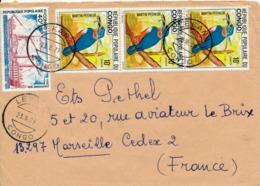 LEKANA / CONGO  - 1979 ,  Brief Nach Marseille / FR - Kongo - Brazzaville