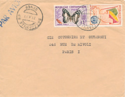 BRAZZAVILLE / CONGO  - 1961 ,  Brief Nach Paris / FR - Kongo - Brazzaville
