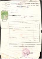 Maroc. 2 Timbres De Quittance. Fiscaux. Sur Autorisation De Bâtir. 1992 - Marruecos (1956-...)