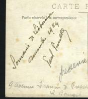 Hand Signed AVIATOR PEUILLOT Autograph Famous Parachute CIRCUS. Old Real PHOTO Postcard FRANCE CPA 1920s - Parachutisme