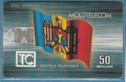 PHONE CARD-MOLDAVIA (E48.1.2 - Moldavia
