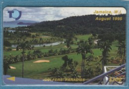 PHONE CARD-JAMAICA (E48.1.7 - Giamaica