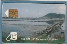 PHONE CARD-ST-MARTEENS-ANTILLE OLANDESI (E48.2.3 - Antille (Olandesi)