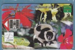 PHONE CARD-MADAGASCAR (E48.2.8 - Madagaskar