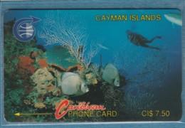 PHONE CARD-CAYMAN (E48.3.7 - Isole Caiman