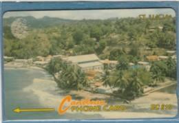 PHONE CARD-ST LUCIA (E48.3.8 - Santa Lucía