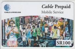 PREPAID PHONE CARD-SEYCHELLES (E48.5.7 - Rapa Nui