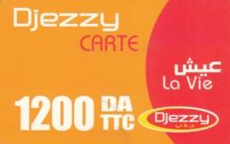 PREPAID PHONE CARD-ALGERIA (E48.6.1 - Algerien