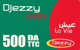 PREPAID PHONE CARD-ALGERIA (E48.6.4 - Algerien