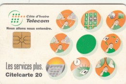 PHONE CARD-COSTA D'AVORIO (E48.7.6 - Côte D'Ivoire