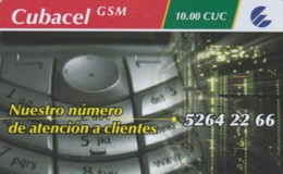 PREPAID PHONE CARD-CUBA (E48.8.1 - Cuba
