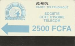 PHONE CARD-COSTA D'AVORIO (E48.8.2 - Ivoorkust