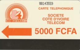 PHONE CARD-COSTA D'AVORIO (E48.8.3 - Costa D'Avorio