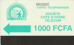 PHONE CARD-COSTA D'AVORIO (E48.8.4 - Ivoorkust