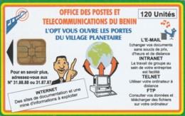 PHONE CARD-BENIN (E48.11.7 - Benin