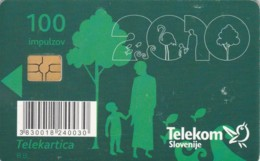 PHONE CARD-SLOVENIA (E48.12.1 - Slovenië