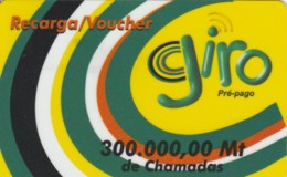 PREPAID PHONE CARD-MOZAMBICO (E48.12.5 - Mozambico