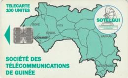 PHONE CARD-GUINEA (E48.12.6 - Guinea