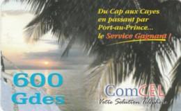 PREPAID PHONE CARD-HAITI (E48.14.8 - Haiti