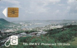 PHONE CARD-ST MARTEEN (E48.16.1 - Antillas (Nerlandesas)