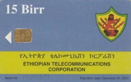 PHONE CARD-ETIOPIA (E48.17.2 - Ethiopië