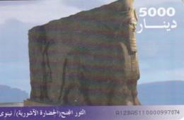 PHONE CARD-IRAQ (E48.20.1 - Iraq