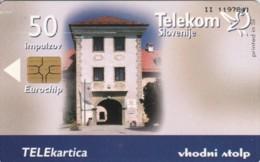 PHONE CARD-SLOVENIA (E48.20.5 - Slovénie