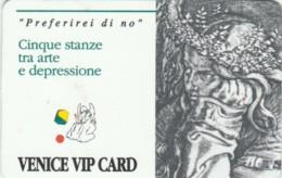 VENICE VIP CARD-ACCESSO (E48.47.8 - Toegangskaarten