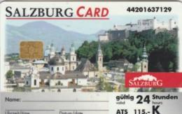 SALZBURG CARD-CARTA ACCESSO (E48.48.1 - Toegangskaarten